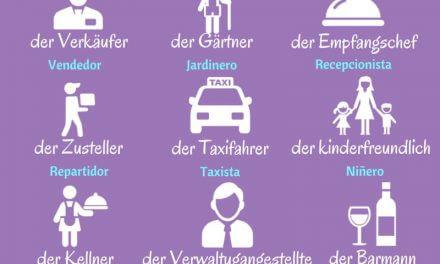 Vocabulario: trabajar en Alemania como estudiante