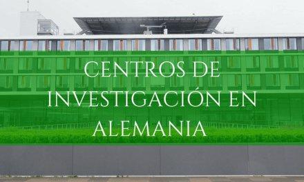 Centros y organizaciones para investigar en Alemania