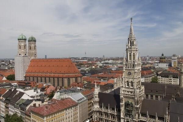 principales ciudades de Alemania - München