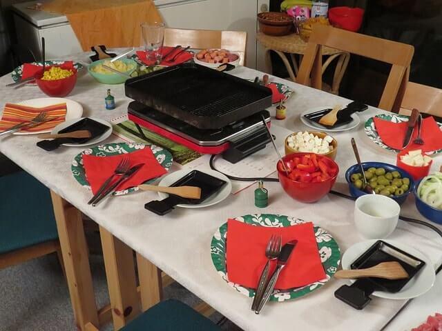 Año nuevo en Alemania - cena