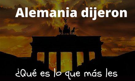 100 mexicanos en Alemania dijeron: ¿Qué les gusta de Alemania?