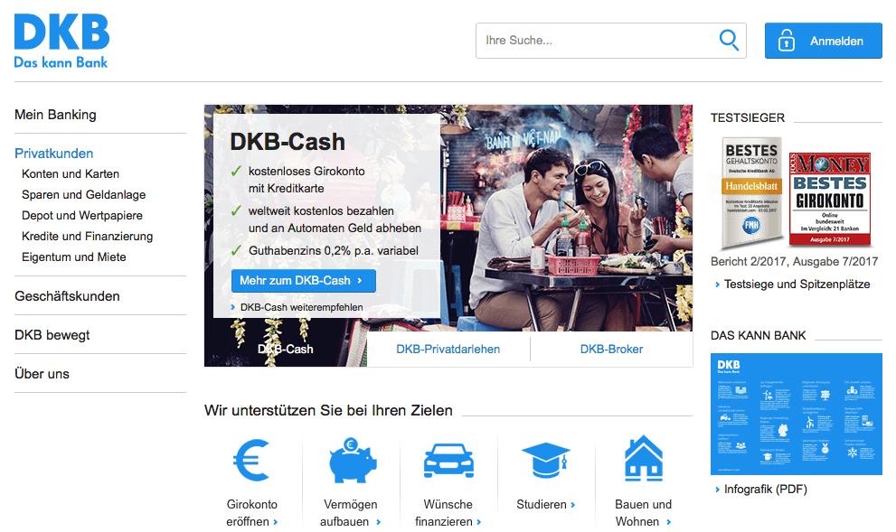 Dinero y Bancos en Alemania - DKB