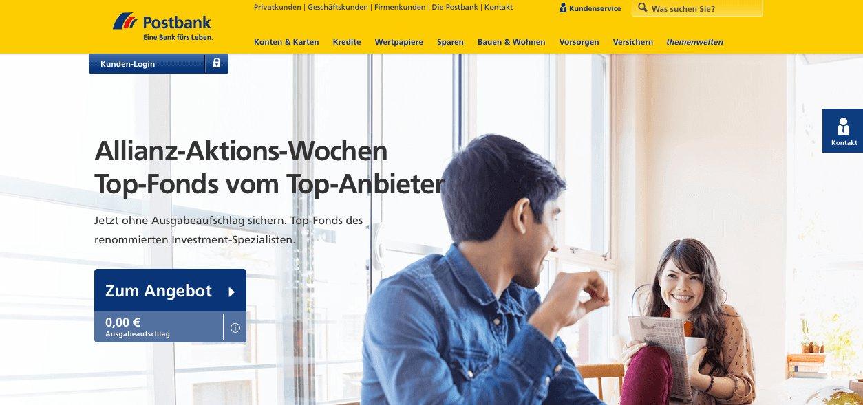 Dinero y Bancos en Alemania - Postbank
