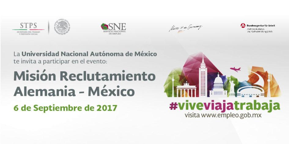 Evento de Reclutamiento Alemania - México