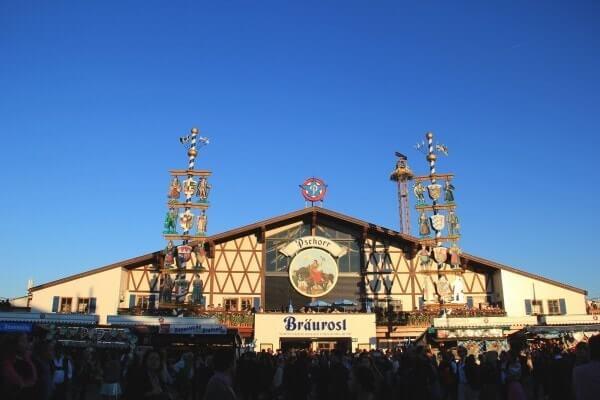 Oktoberfest - Carpas de cerveza