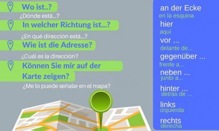 Vocabulario en alemán – pedir y dar direcciones