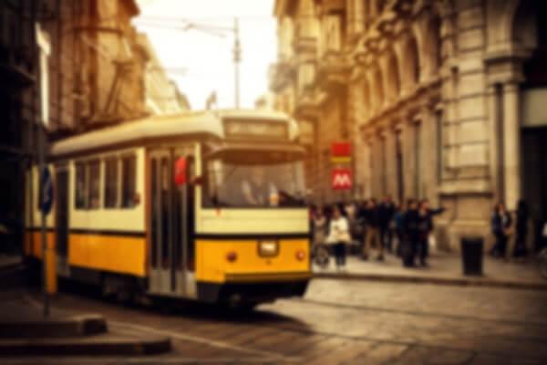 Transporte público - Straßenbahn