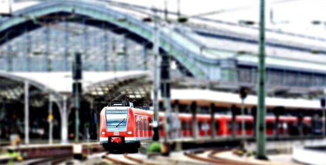Transporte público en Alemania - trenes