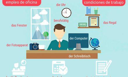 Vocabulario en alemán: trabajar en Alemania