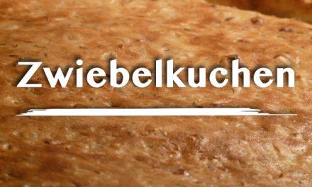 Receta Zwiebelkuchen