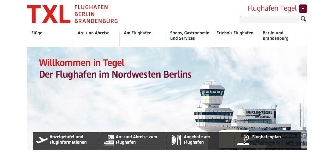 aeropuertos en Alemania - Berlin