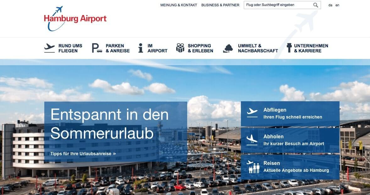 aeropuertos en Alemania - Hamburgo