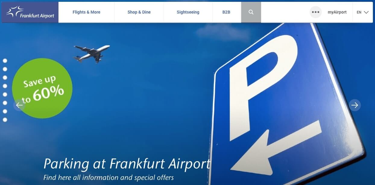 aeropuertos en Alemania - Frankfurt