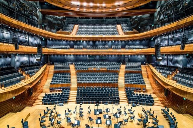 Música en Alemania - Salas de Concierto