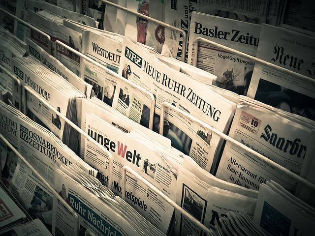 recursos para prender alemán - periódicos