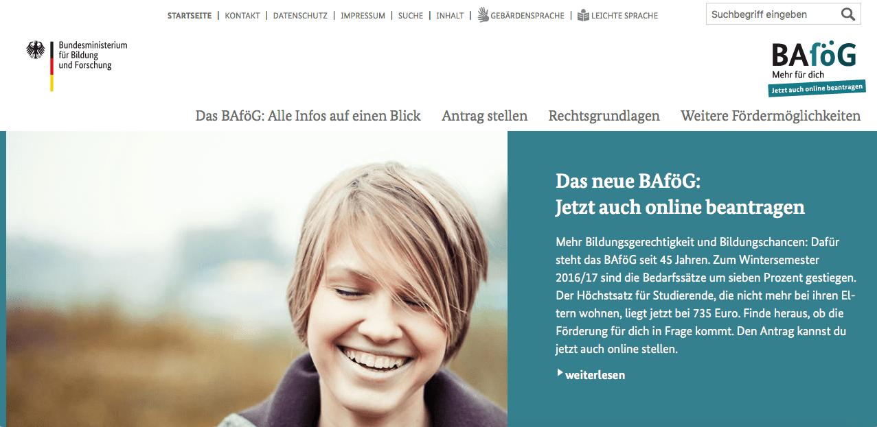becas para estudiar en Alemania - bafoeg
