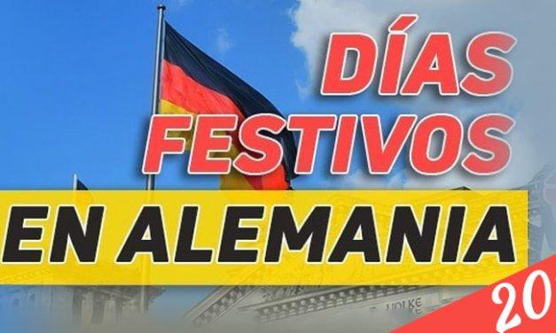 Días Festivos en Alemania 2019