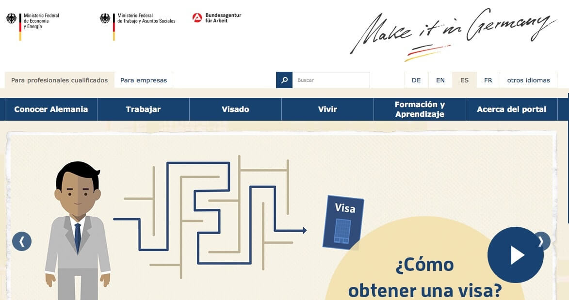 Directorio de organizaciones importantes de Alemania - Make it in Germany