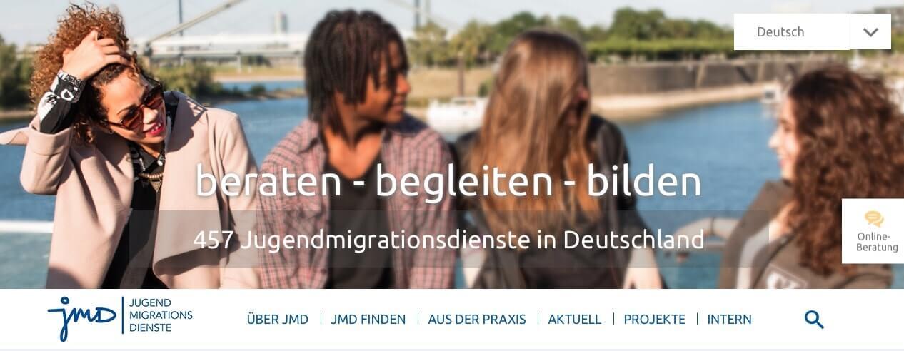 Directorio de Organizaciones importantes de Alemania - Servicios de Migración para Jóvenes
