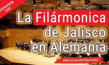 Entrevista con músicos de la filarmónica de Jalisco en Alemania