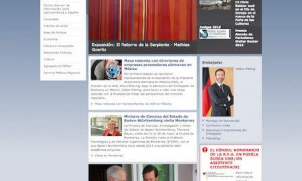 Embajadas y consulados alemanes en México