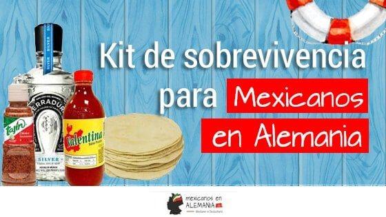 Kit de supervivencia para mexicanos en Alemania