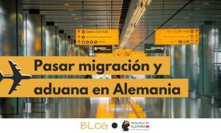 Pasar migración y aduana en Alemania