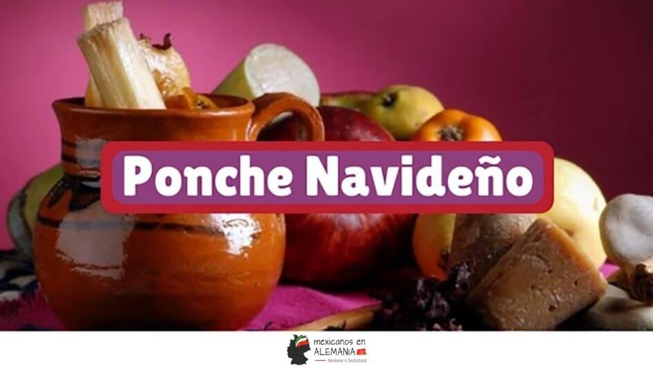 Receta del ponche navideño mexicano