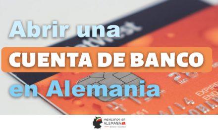 Abrir una cuenta de banco en Alemania