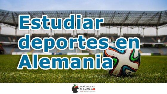 Estudiar deportes en Alemania