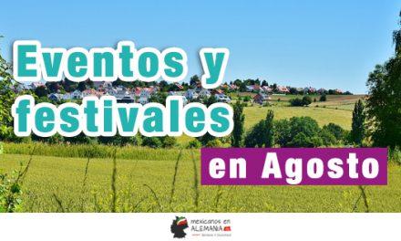 Eventos y festivales de Agosto en Alemania