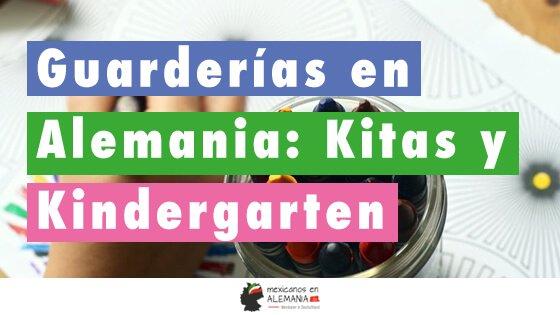 Guarderías en Alemania: Kitas y Kindergarten