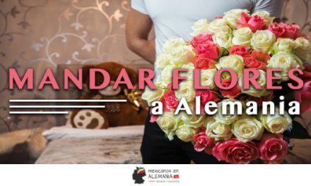 Mandar flores en Alemania