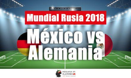 Mundial de fútbol: México vs Alemania