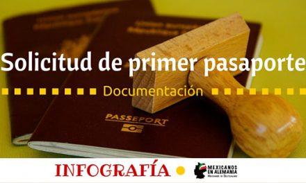 Primer pasaporte alemán