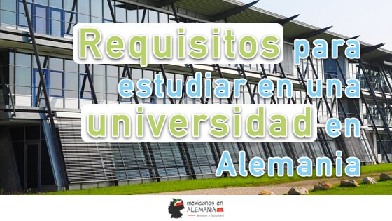 Requisitos para estudiar en Alemania-Portada