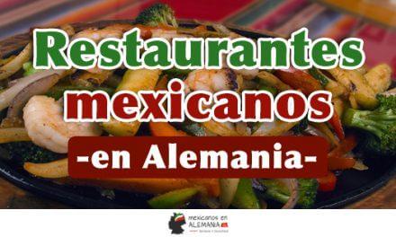 Directorio de Restaurantes Mexicanos en Alemania