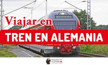 Viajar por tren en Alemania
