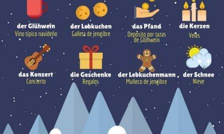 Vocabulario en alemán – mercados navideños