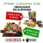 Primer Concurso 2016 Mexicanos en Alemania