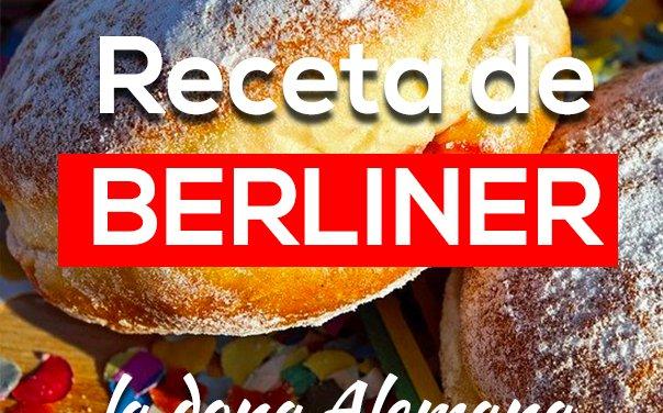 Receta de Berliner – dona alemana