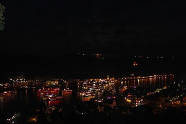 Septiembre en Alemania - Rhein im Flames