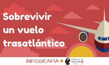 Cómo sobrevivir un vuelo transatlántico