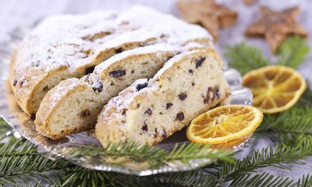 Receta Stollen – pan de fruta navideño alemán