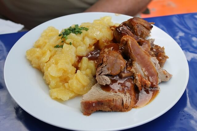 Restaurante de comida alemana - munich
