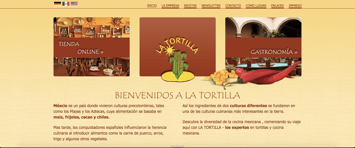 tiendas de productos mexicanos - la tortilla