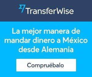 TransferWise - La mejor manera de mandar dinero a México desde Alemánia