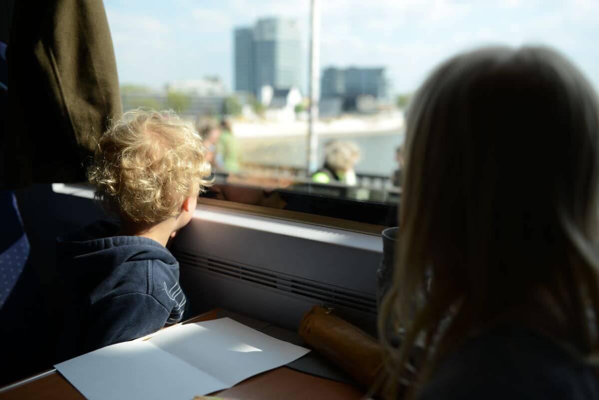 viajar con niños por tren en Alemania