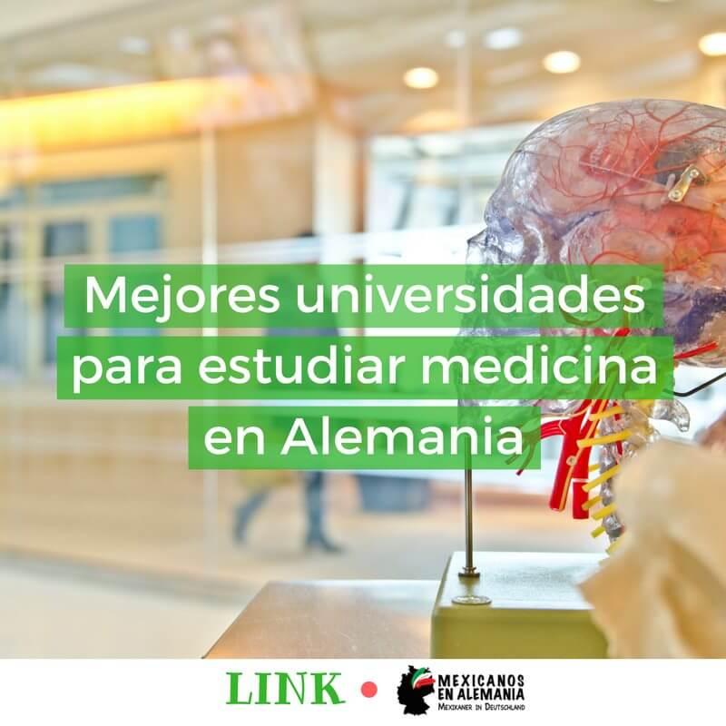 portada mejores universidades para estudiar medicina en Alemania