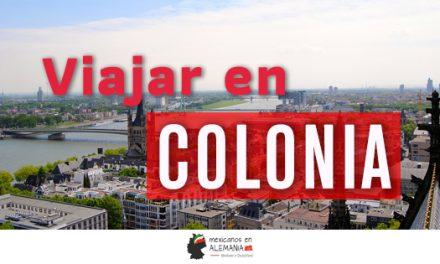 Viajar en Colonia